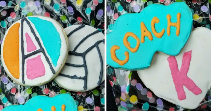 #AgapeStyle cookies for Coach K