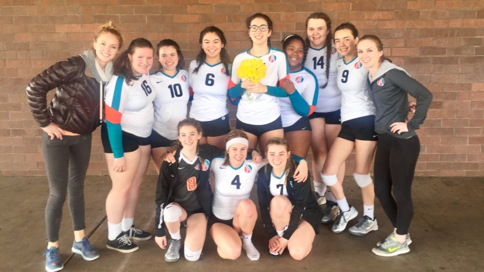Agape 16-2 Third Place in CEVA Power League