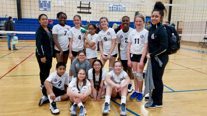 Agape 12-1s take second place at final power league
